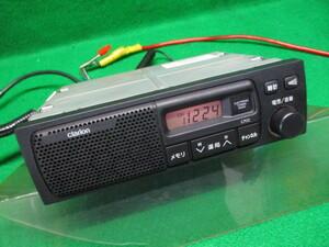 H16 クリッパー LA-U72V 純正スピーカー一体型AMラジオ / Clarion MN141632 C702