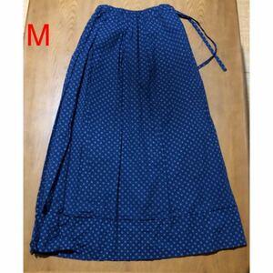 スカート M 9号 ロングスカート フレアスカート