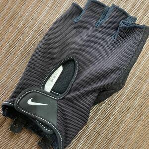 NIKE 左手 グローブ Lサイズ パワーグリップグローブ グリップグローブ 筋トレ ジム ウエイトトレーニング ナイキ