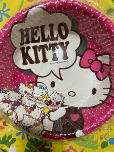 ハローキティ サンリオ 紙皿 超絶キュートなキティちゃん紙皿1セット×4枚入 17セット
