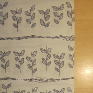 YUWA シーチング生地 ナチュラル柄 生地巾約108cm×50cm
