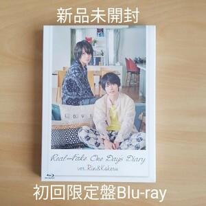 新品未開封★REAL⇔FAKE One Day's Diary 凛&翔琉編 初回限定版 Blu-ray