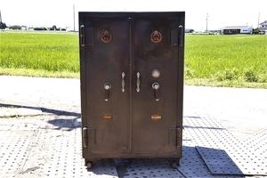 doesn't open.. safe antique safe corporation yamani association figure dial key is not receipt limitation (pick up) heavy.