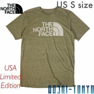 ◆日本未発売◆THE NORTH FACE ハーフドーム Tシャツ/US Sサイズ オリーブカラー /ノースフェイス US限定