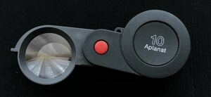 Eschenbach 10 times folding magnifier Germany inspection for magnifier magnification 10 times ESCHENBACH Aplanat.4459