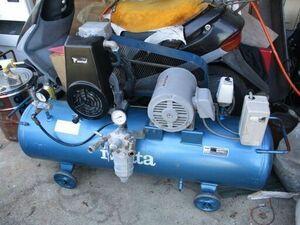 iwata エアーコンプレッサー SP-15PBR 2馬力 タンク80L 業務用 塗装に