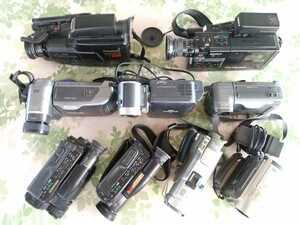 カメラ ビデオカメラ レンズ ストロボその他 カメラ屋さんからの倉庫整理品 まとめ大量出品  未確認現状渡し ジャンク 10台セット⑧