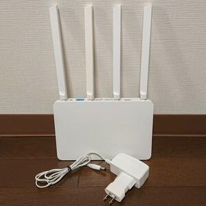 Xiaomi WiFiルータ Mi Router3 簡易NAS機能付き