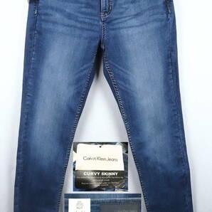 《郵送無料》■Ijinko◆新品☆カルバン・クライン Calvin Klein Curvy skinny 8(日本 L/XL)デニムジーンズ