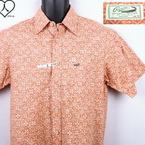 《郵送無料》■Ijinko◆美品◆クロコダイル Crocodile M サイズ半袖シャツ