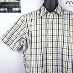 《郵送無料》■Ijinko◆スコッチハウス The Scotch House M サイズ半袖シャツ