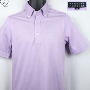 《郵送無料》■Ijinko◆美品◆BARNEYS NEW YORK バーニーズニューヨーク日本製 M サイズ半袖ポロシャツ