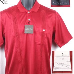 《郵送無料》■Ijinko◆Renownレナウン Authentic M サイズ半袖ポロシャツ