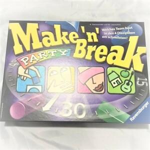(中古ドイツ語版) メイクンブレイクパーティー Make 'n' Break Party ボードゲーム