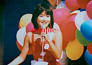 岡田有希子写真 L版一枚90