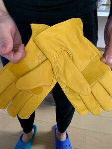 WELLS LAMONT社 レザーグローブ 革手袋 Mサイズ 新品未使用