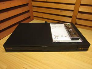 Y送料無料△136【SONY ソニー】Ultra HD Blu-ray ブルーレイ DVDプレイヤー UBP-X800 リモコン 取扱説明書付