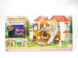Sylvanian Families(シルバニアファミリー) Beech wood Hall 海外版 UK あかりの灯る大きなお家 雑貨/028