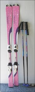 Bana8◆atomic атомный cloudjunior 140cm лыжи крепления / stock есть