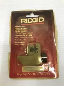 【未使用・長期保管品】RIDGID  薄肉ステンレス管用チューブカッター  IT1BXFXPTW1M ◯