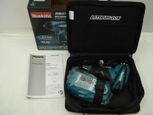 小さくて使いやすい★マキタ 充電式ドライバードリル DF030DWSP バッテリー 充電器 セット 未使用品�@