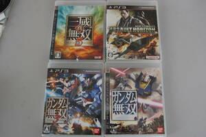 PS3ソフト  3本セット  (エースコンバット・真三國無双5・ガンダム×2)     57