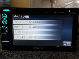 KENWOOD MDV-323 CD DVD ワンセグ 2010年