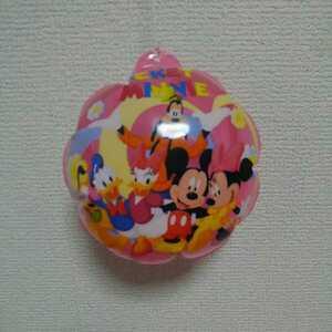 ミッキー&ミニー ピンク ディズニー  ミニビーチボール  直径14㎝  幼児玩具  水遊び プール  お風呂グッズ