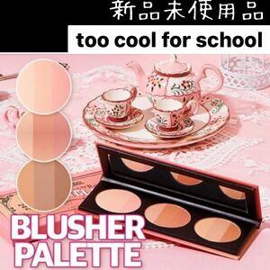too cool for school トゥークールフォースクールバイロダン3色紅茶ブラッシャー