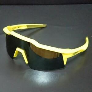 100% サングラス SPEEDCRAFT SL ブラックミラーレンズ 新品