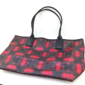 【Vivienne Westwood】ヴィヴィアン トートバッグ レザー 黒/赤