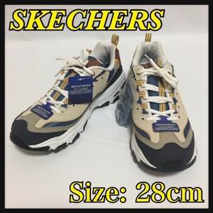 【新品】スケッチャーズ SKECHERS エアークール メモリーフォーム スニーカー / トレッキングシューズ サイズ:28cm