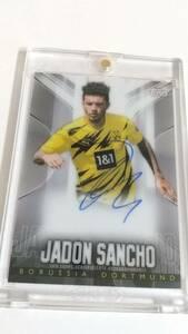 2020 Topps Transcendent Chrome BVB Borussia Dortmund Jadon Sancho auto/44 Autograph 直書き 即決