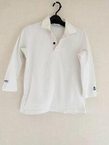 ☆☆バーバリアン 七分袖 ラガーシャツ レディース 白 カナダ製