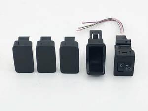 _b66908 ダイハツ ミラ カスタムX DBA-L275S レベライザー スイッチ 光軸 トリム 内装 カバー FV11 275V 285S 285V