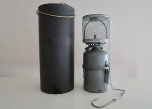 未使用品 1940'sスウェーデン軍 PUNKER 80 カーバイドランプ 後期型メッシュシェードグローブ /ビンテージカーバイトランタン