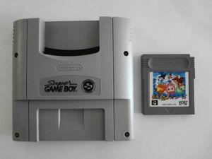 送料無 即決 使用感あり 任天堂 スーパーファミコン SFC スーパーゲームボーイ 本体 もんすたあレース セット レトロ ゲーム ソフト Y465