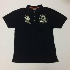 PX AVIREX ブラック ポロシャツ Lサイズ アヴィレックス