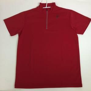 ワコール Wacoal CW-X 半袖 速乾Tシャツ レッド Lサイズ DLO-612
