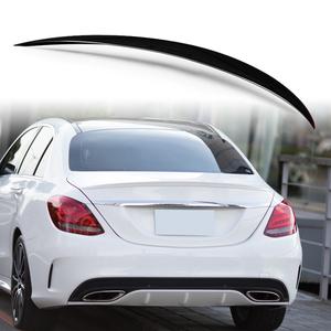 純正色塗装 ABS製 トランクスポイラー メルセデスベンツ Cクラス W205用 サルーン 前期 Aタイプ カラーコード指定
