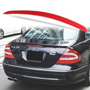 純正色塗装 ABS製 トランクスポイラー メルセデスベンツ CLKクラス W209用 クーペ Aタイプ 両面テープ取付 カラーコード:590