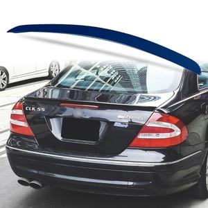 純正色塗装 ABS製 トランクスポイラー メルセデスベンツ CLKクラス W209用 クーペ Aタイプ 両面テープ取付 カラーコード:359