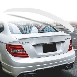 純正色塗装 ABS製 トランクスポイラー メルセデスベンツ Cクラス W204 C204用 クーペ Aタイプ 両面テープ取付 カラーコード:799