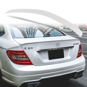 純正色塗装 ABS製 トランクスポイラー メルセデスベンツ Cクラス W204 C204用 クーペ Aタイプ 両面テープ取付 カラーコード:775