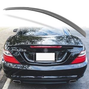 純正色塗装 ABS製 トランクスポイラー メルセデスベンツ SLKクラス R172用 前期 Aタイプ 両面テープ取付 カラーコード:755