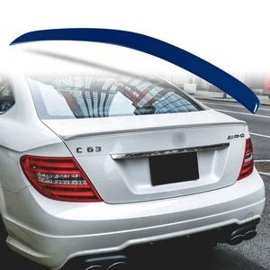 純正色塗装 ABS製 トランクスポイラー メルセデスベンツ Cクラス W204 C204用 クーペ Aタイプ 両面テープ取付 カラーコード:359