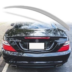 純正色塗装 ABS製 トランクスポイラー メルセデスベンツ SLKクラス R172用 前期 Aタイプ 両面テープ取付 カラーコード:792