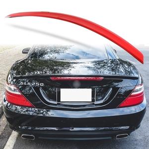 純正色塗装 ABS製 トランクスポイラー メルセデスベンツ SLKクラス R172用 前期 Aタイプ 両面テープ取付 カラーコード:590