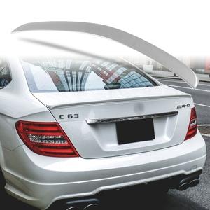 純正色塗装 ABS製 トランクスポイラー メルセデスベンツ Cクラス W204 C204用 クーペ Aタイプ 両面テープ取付 カラーコード:792