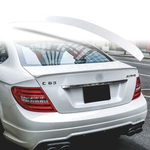 純正色塗装 ABS製 トランクスポイラー メルセデスベンツ Cクラス W204 C204用 クーペ Aタイプ 両面テープ取付 カラーコード:650
